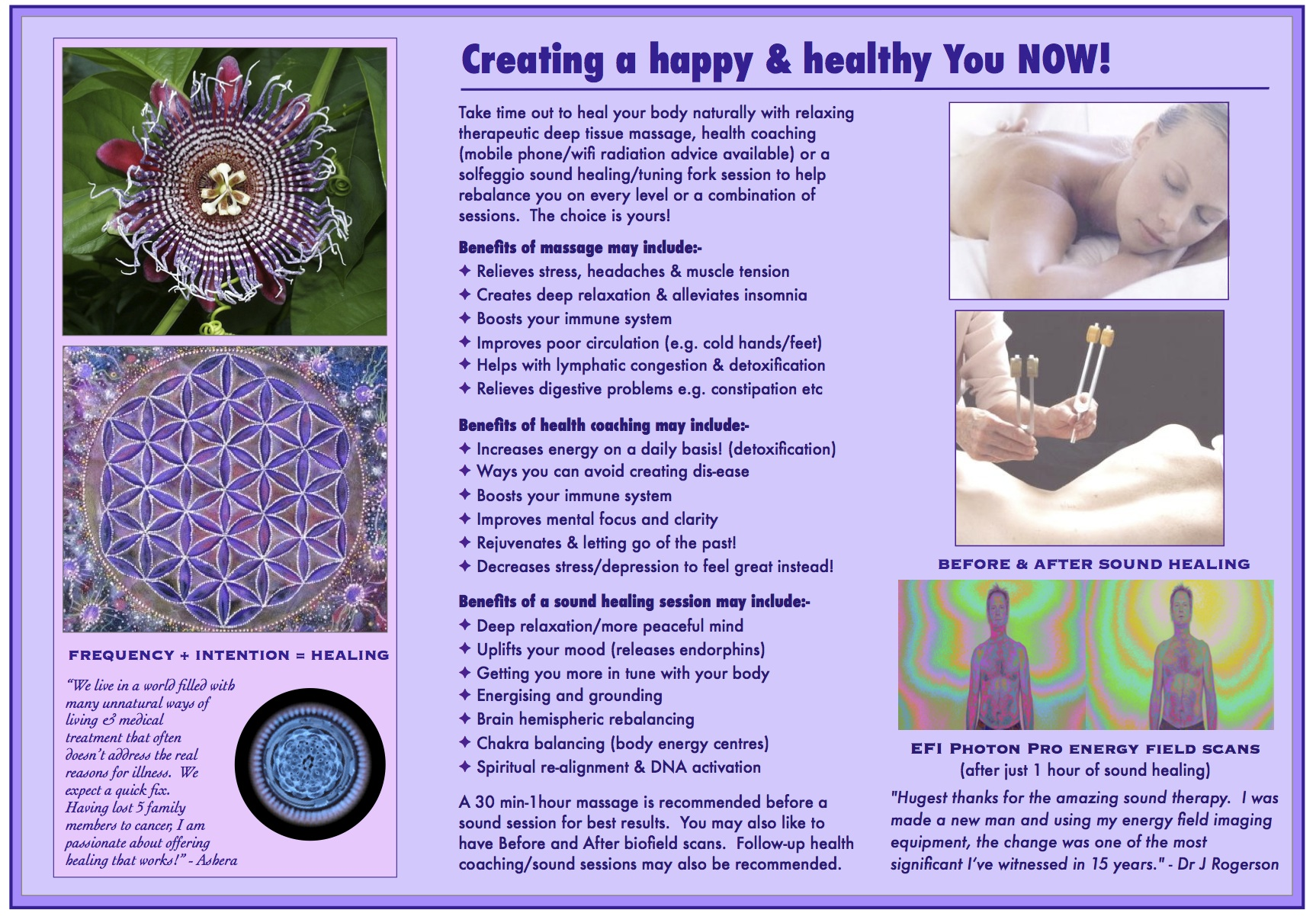 Ready to Heal brochure BALI p2