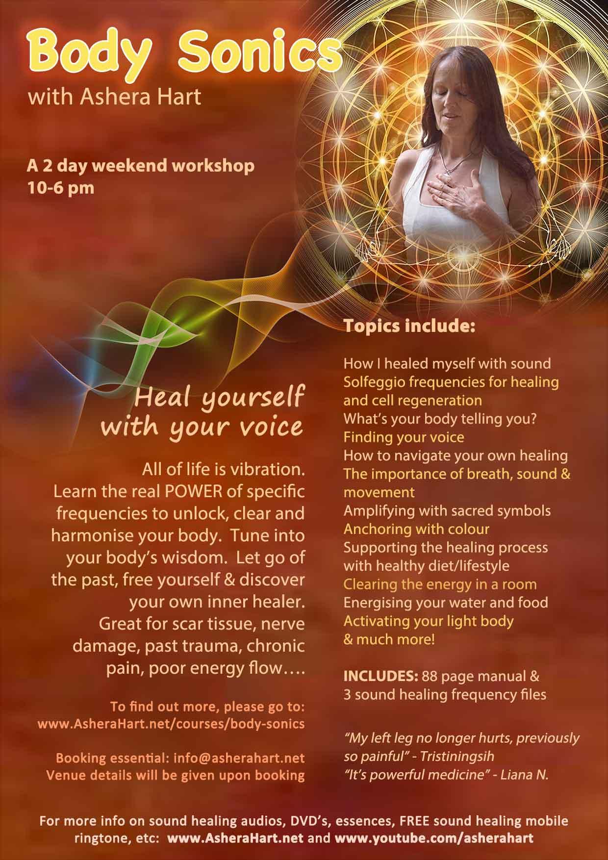 solfeggio sound healing, Body Sonics, cellular healing, stress relief, shamanic practice, sound healing