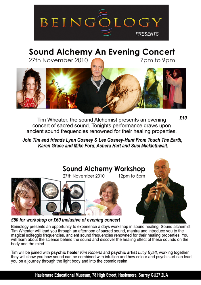 Beingology Sound Healing Concert