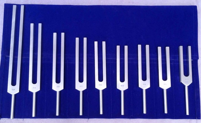 solfeggio tuning forks, 528Hz, sound healing courses