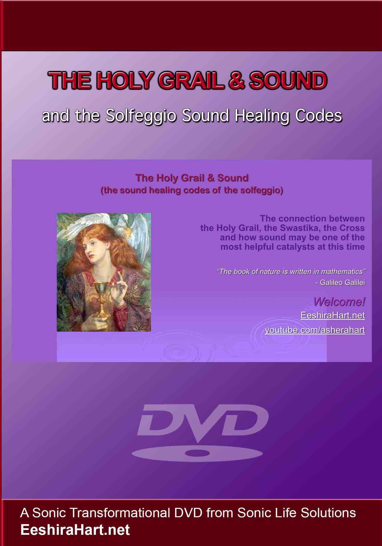 The Holy Grail Sound Healing Codes