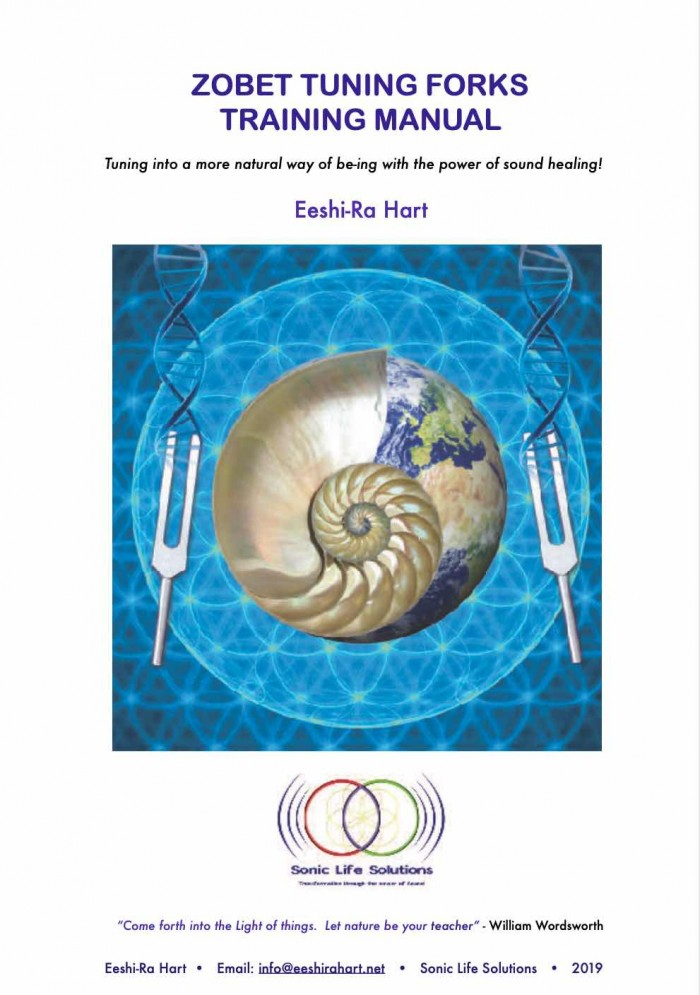 Zobet Tuning Forks Manual 2019