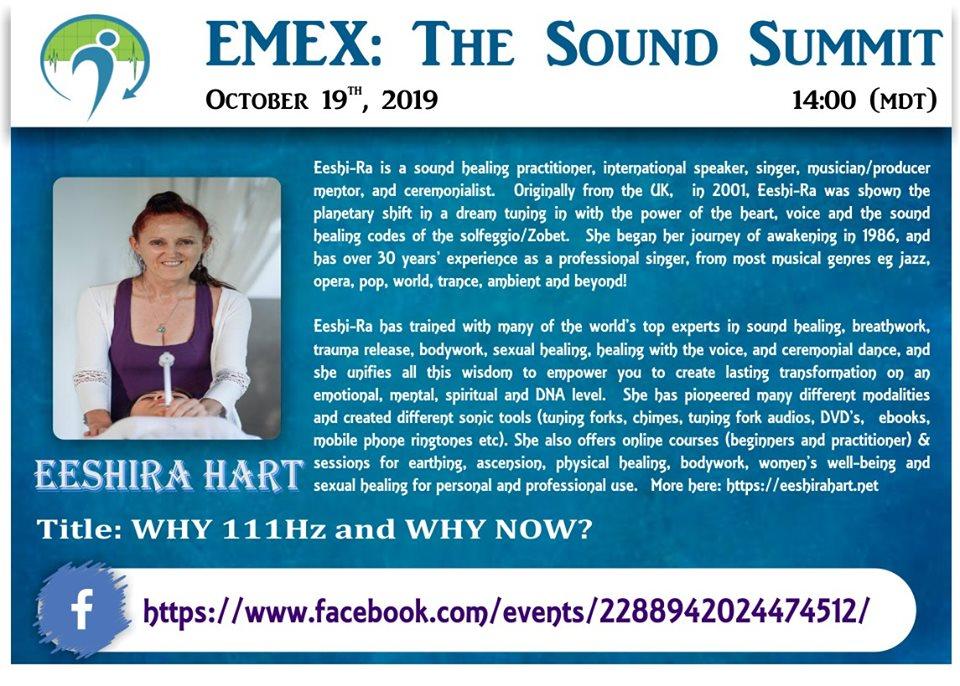 Emex: The Sound Summit 2019