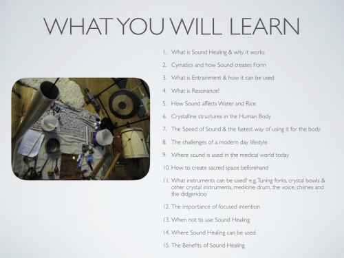 Intro to Sound Healing ONLINE