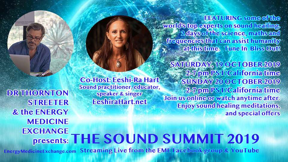 International Sound Healing Summit 2019, 111Hz, sound healing, solfeggio frequencies, tuning forks,